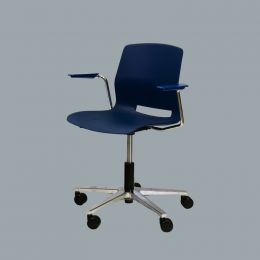 Office Chair with Arm and Gas Lift for High Adjustable